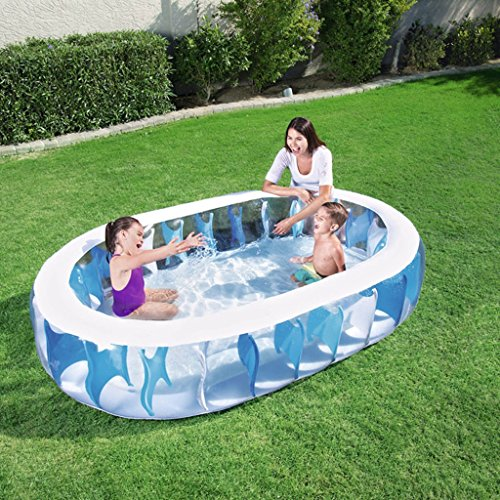 XiYunHan-Inflatable-Swimming-Pool-Family-Paddling-Pool-Child-Ocean-Ball-Pool-3-6-Years-Old-Square-1-2-People-0-0