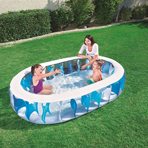 XiYunHan-Inflatable-Swimming-Pool-Family-Paddling-Pool-Child-Ocean-Ball-Pool-3-6-Years-Old-Square-1-2-People-0