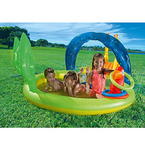 XiYunHan-Inflatable-Swimming-Pool-Ocean-Ball-Pool-Baby-Child-Paddling-Pool-Thicken-Sand-Pool-Animal-2-3-People-0-0