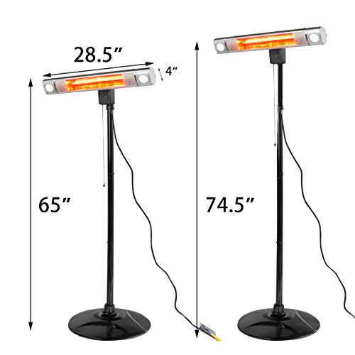 XtremepowerUS-Infrared-1500W-Patio-Heater-Wall-Mount-Free-Standing-Led-Light-0-0