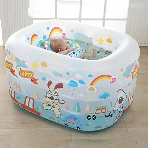 YZYC-Family-Inflatable-Pool-PVC-Baby-Swimming-Pool45X37X30-0-1