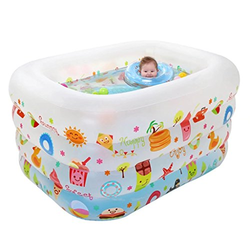 YZYC-Family-Inflatable-Pool-PVC-Baby-Swimming-Pool45X37X30-0-3