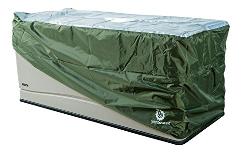 YardStash-Deck-Box-Cover-XL-to-Protect-Large-Deck-Boxes-Lifetime-60012-Extra-Large-Deck-Box-Cover-Suncast-DBW9200-Deck-Box-Cover-Rubbermaid-5E39-Deck-Box-Cover-Rubbermaid-wSeat-Deck-Box-Cover-0