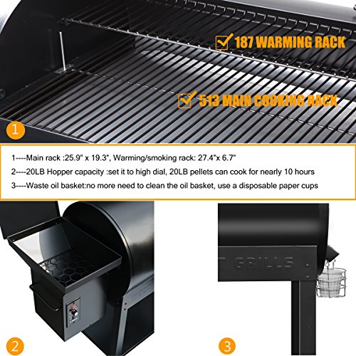 Z-GRILLS-Wood-Pellet-Grill-Smoker-700sq-in-6-1-BBQ-Grill-with-Electric-Digital-Controls-for-Outdoor-BackyardNo-Patio-Cover-0-1