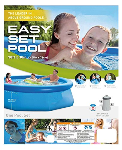 oldzon-10-x-30-Easy-Set-Above-Ground-Inflatable-Swimming-Pool-Filter-Pump-With-Ebook-0-2