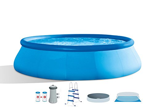 oldzon-15-x-42-Easy-Set-Swimming-Pool-Complete-Kit-with-1000-GPH-Filter-Pump-With-Ebook-0