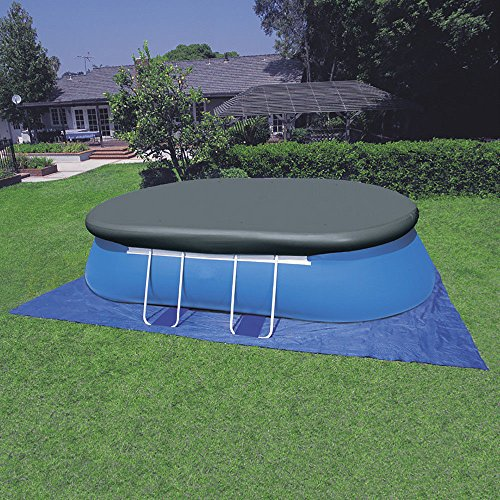 oldzon-18-x-10-x-42-Inches-Oval-Frame-Pool-Easy-Set-with-1000-GPH-Filter-Pump-With-Ebook-0-2