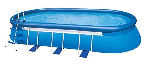 oldzon-20-x-12-x-48-Oval-Frame-Pool-Set-w1500-GPH-Filter-Pump-V-TRAP-Vac-With-Ebook-0-1