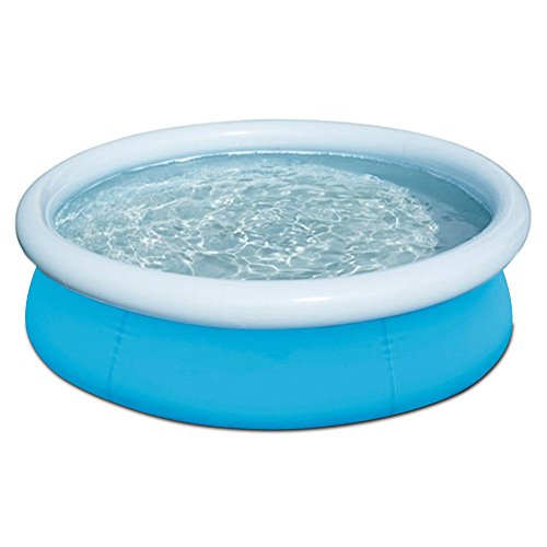 oldzon-6-x-20-Fast-Set-Round-Inflatable-Above-Ground-Kids-Swimming-Pool-Blue-With-Ebook-0-2