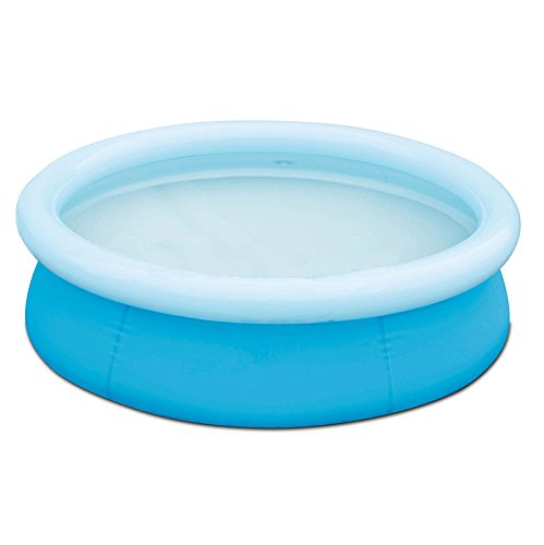 oldzon-6-x-20-Fast-Set-Round-Inflatable-Above-Ground-Kids-Swimming-Pool-Blue-With-Ebook-0