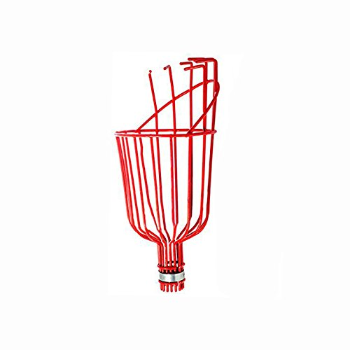 x2-Two-Professional-Metal-Fruit-Pickers-with-Long-Telescoping-8ft-Pole-Fruit-Catcher-Reach-Fruit-up-to-15ft-without-a-ladder-0-0