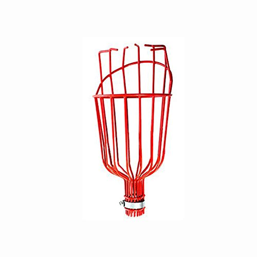 x2-Two-Professional-Metal-Fruit-Pickers-with-Long-Telescoping-8ft-Pole-Fruit-Catcher-Reach-Fruit-up-to-15ft-without-a-ladder-0-1